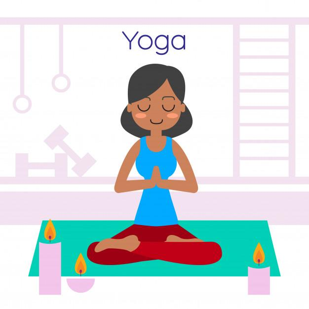 young woman practicing yoga lotus pose 1416 663