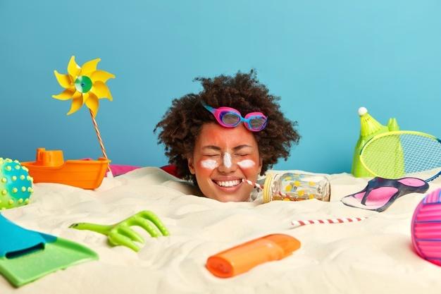 Produtos para proteger a pele e cabelos